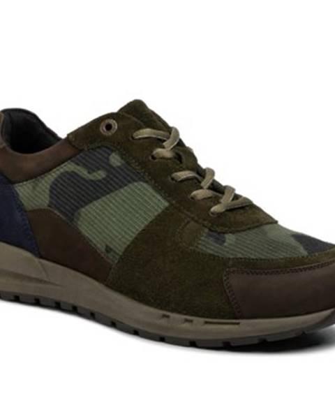 Khaki topánky Lasocki for men