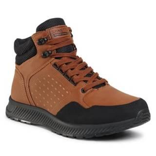 Šnurovacia obuv Lanetti MP07-91357-02 Imitácia kože/-Imitácia kože