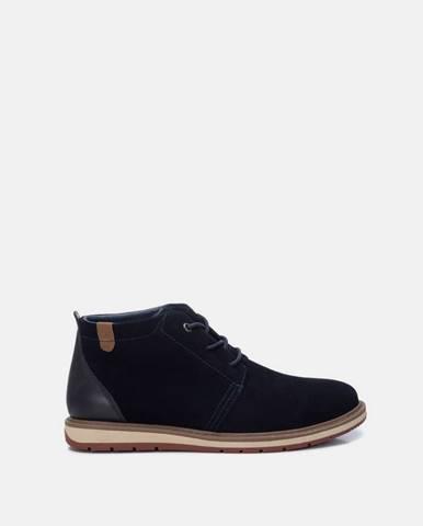 Tmavomodré topánky Xti