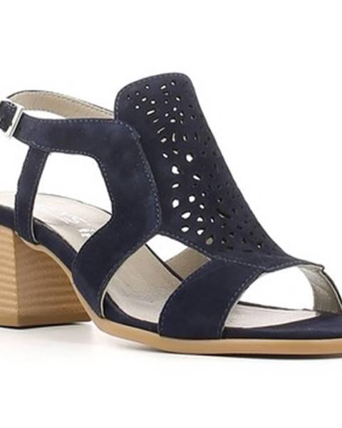 Modré sandále Keys