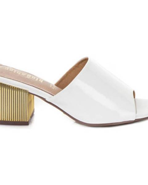 Biele topánky Gold gold