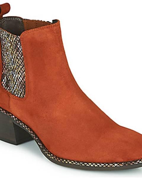 Červené topánky Regard