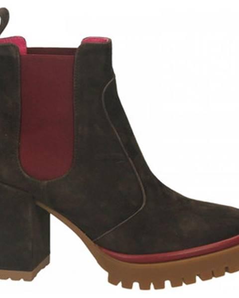 Hnedé topánky Le Babe