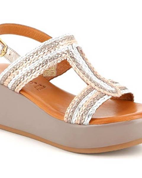 Béžové sandále Grunland