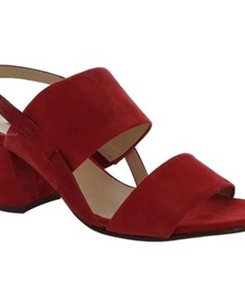 Červené sandále Högl
