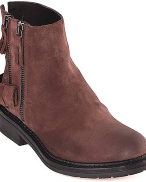 Hnedé topánky Mally