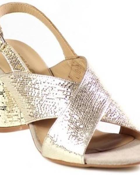 Zlaté sandále IGI CO