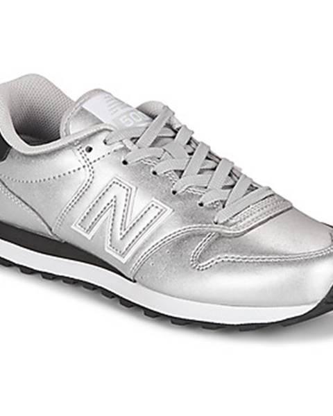 Strieborné tenisky New Balance