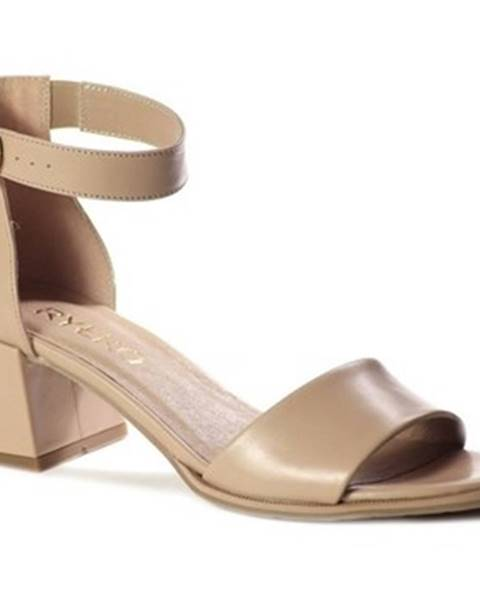 Béžové sandále Ryłko