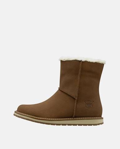 Hnedá zimná obuv Helly Hansen