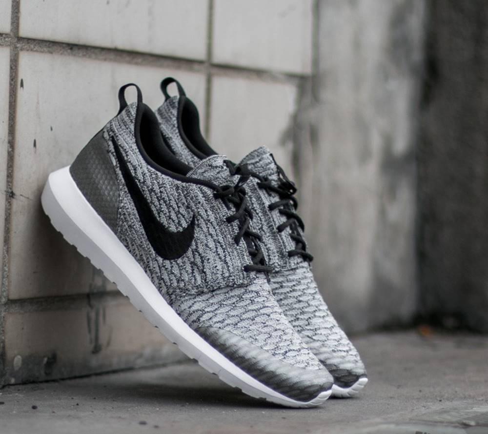 Nike Roshe NM Flyknit SE Wolf Grey/ Black