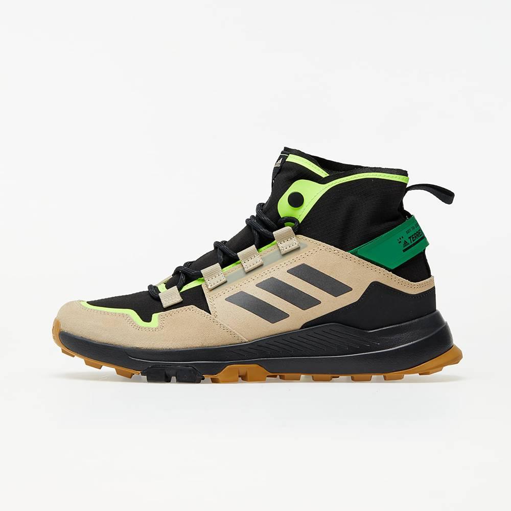 adidas Performance adidas Terrex Hikster Mid Core Black/ Core Black/ Signature Green