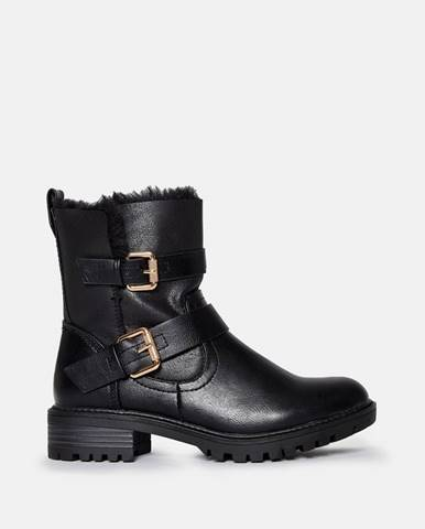 Čierna zimná obuv Dorothy Perkins