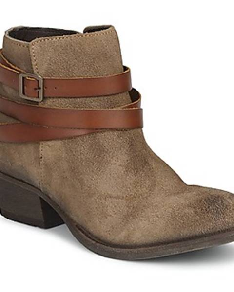 Hnedé topánky Hudson