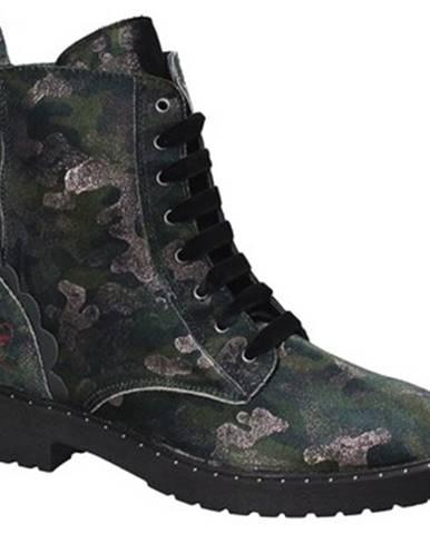 Zelené topánky Fornarina