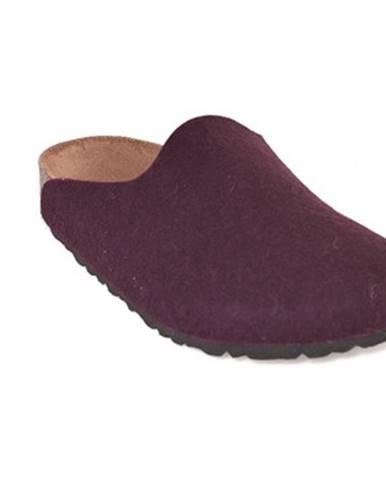 Fialové papuče Birkenstock