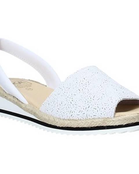 Biele sandále Ska