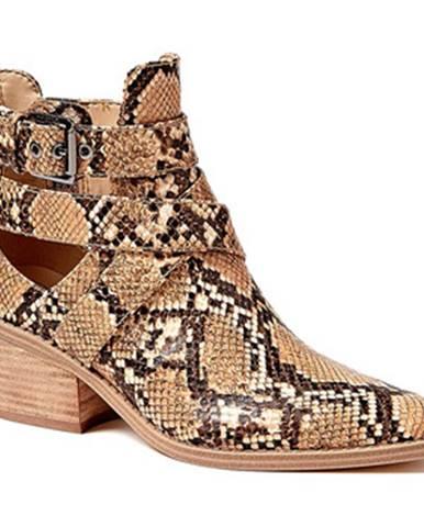 Béžové topánky Guess