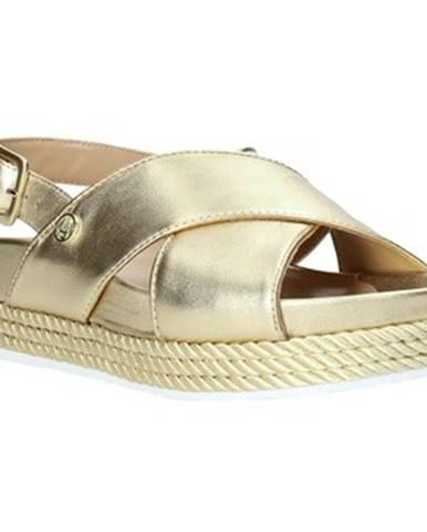 Zlaté sandále Liu Jo