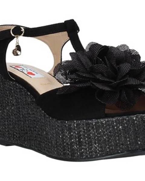 Čierne sandále Love To Love