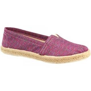 Espadrilky Leonardo Shoes  5500 FUXIA