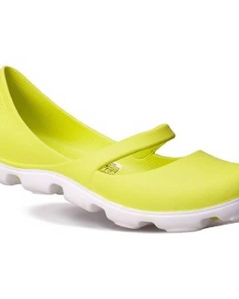 Viacfarebné balerínky Crocs