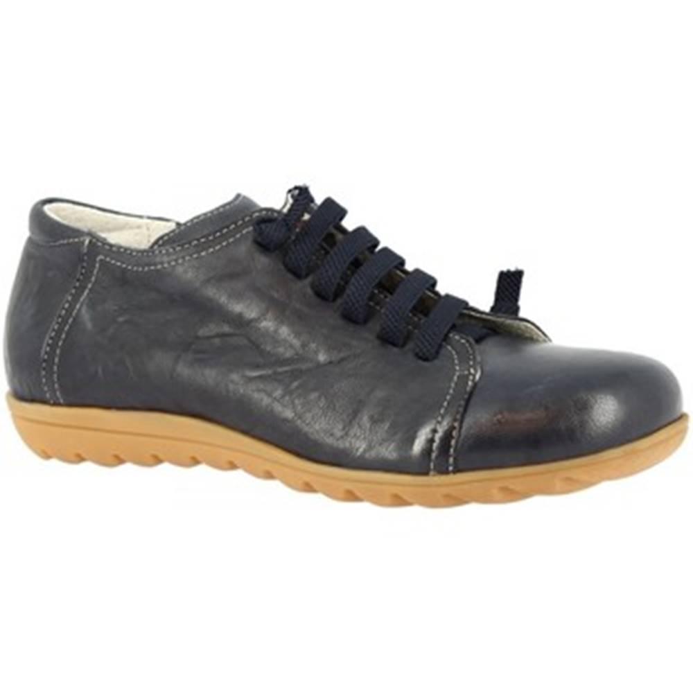 Leonardo Shoes Derbie Leonardo Shoes  504 STROPICCIATO BLEU