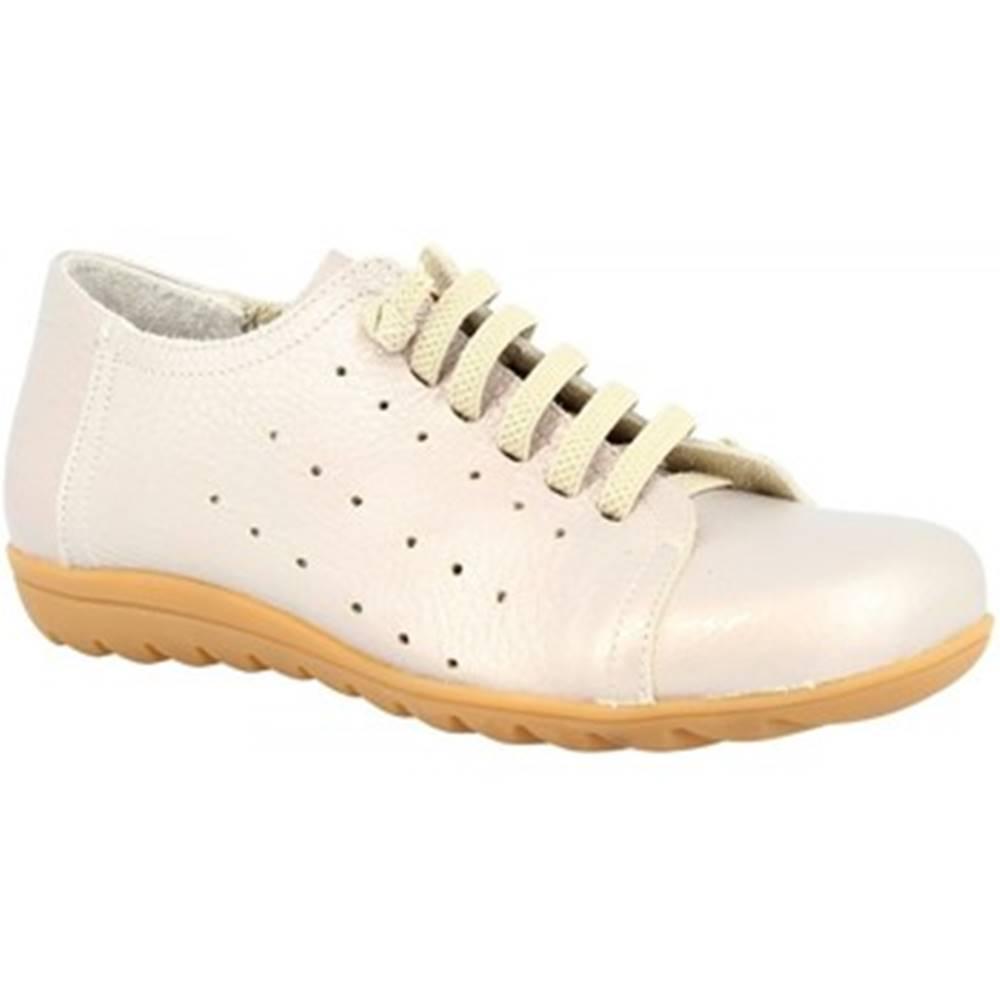 Leonardo Shoes Derbie Leonardo Shoes  594 PERLATO PASTELLO