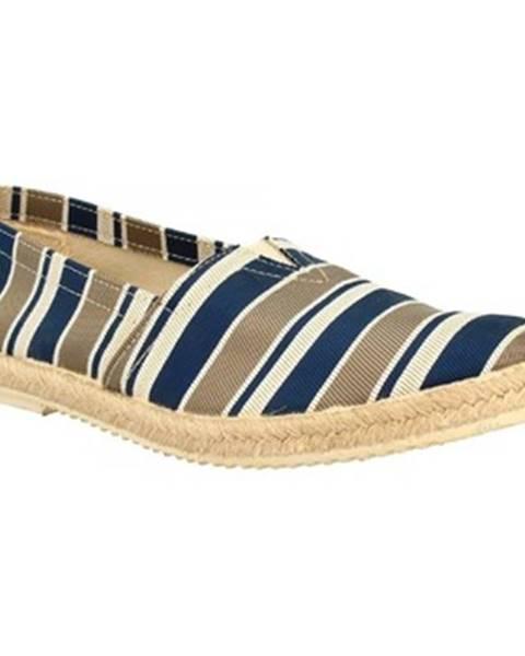Viacfarebné espadrilky Leonardo Shoes
