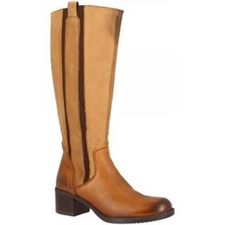 Čižmy do mesta Leonardo Shoes  11269 SELLA/COGNAC