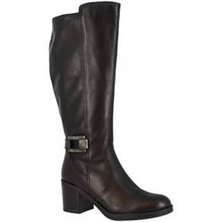 Čižmy do mesta Leonardo Shoes  41506 NERO