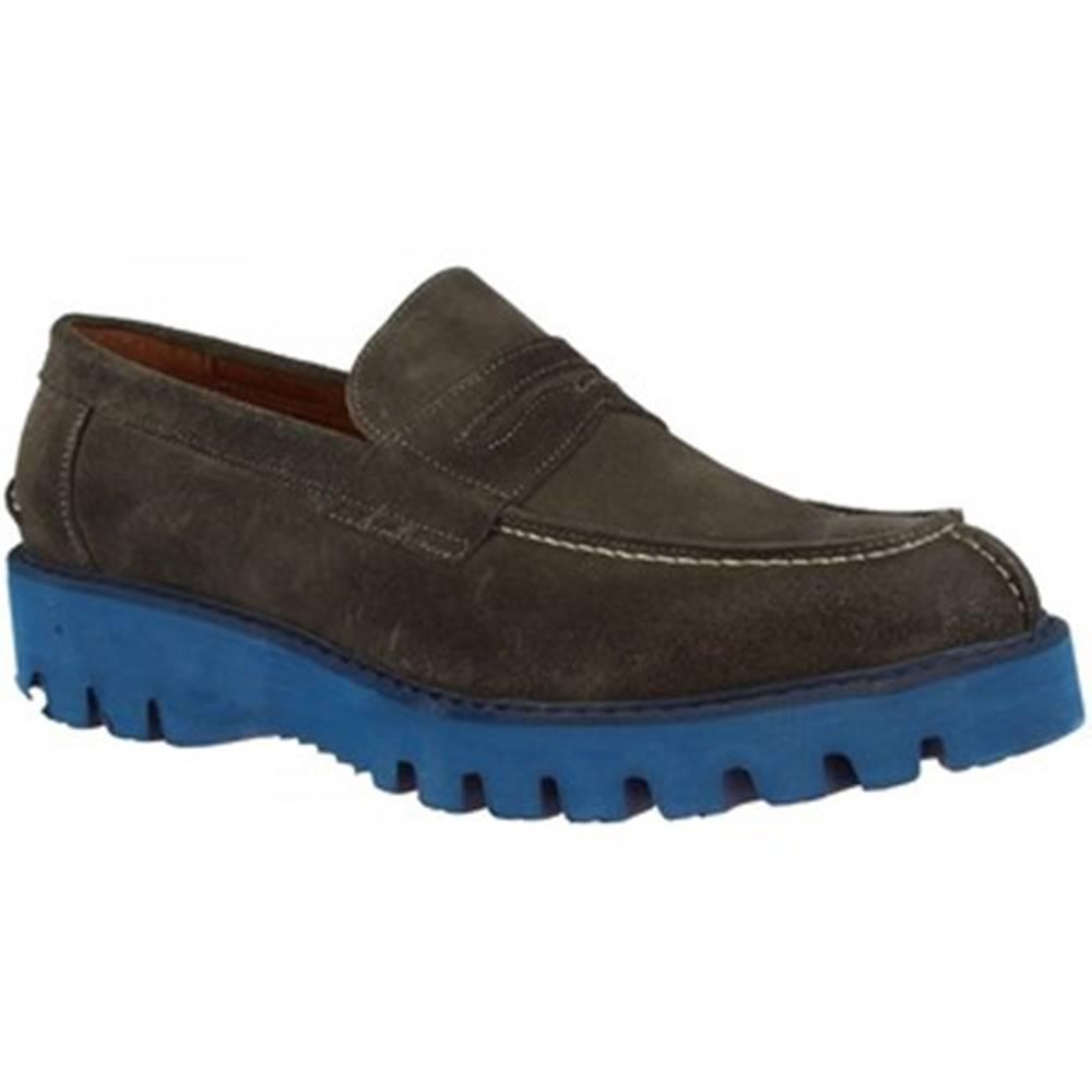 Leonardo Shoes Mokasíny Leonardo Shoes  U180 CAMOSCIO SMO