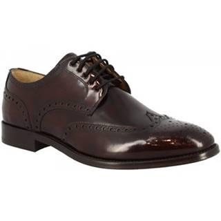 Derbie Leonardo Shoes  7661 BORDEAUX