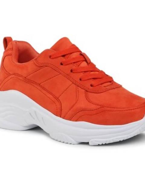 Oranžové poltopánky Jenny Fairy