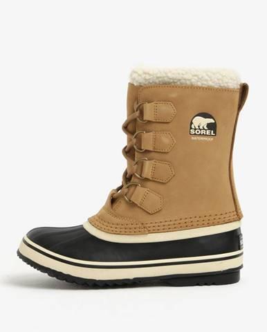 Svetlohnedá zimná obuv Sorel