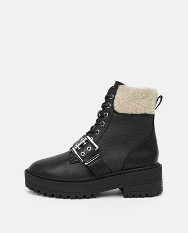 Čierna zimná obuv Only