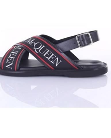 Čierne čižmy McQ Alexander McQueen