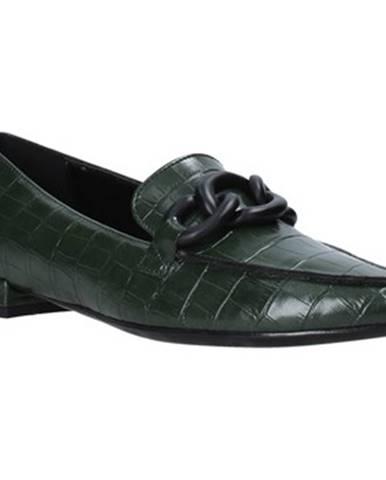 Zelené espadrilky Grace Shoes