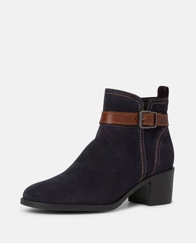 Tmavomodré topánky Tamaris