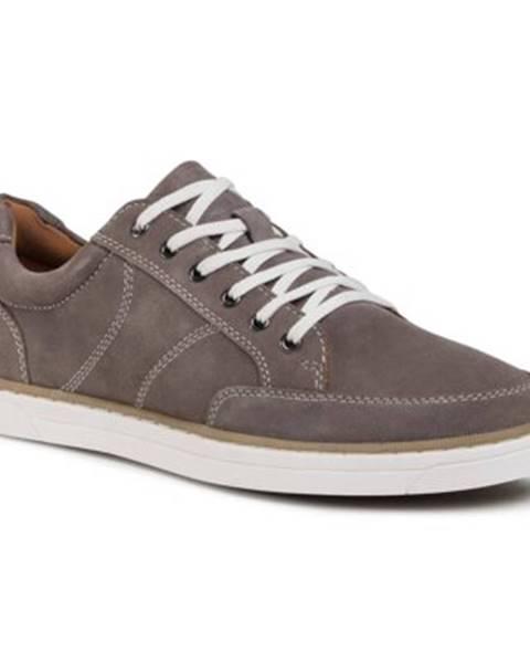 Šedé topánky Lasocki for men