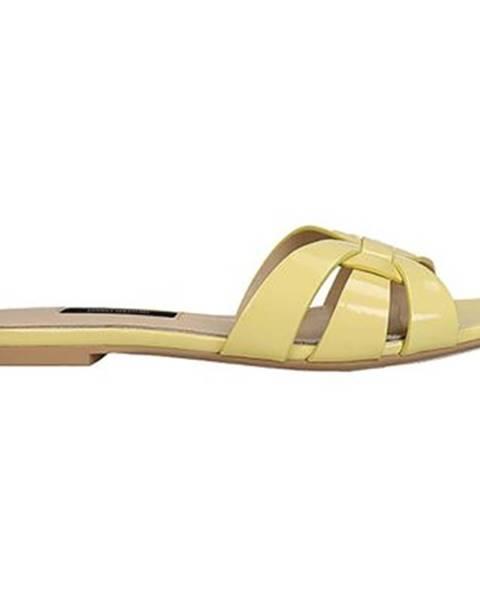 Žlté topánky Gino Rossi