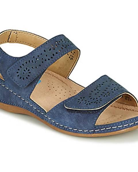 Modré sandále Damart