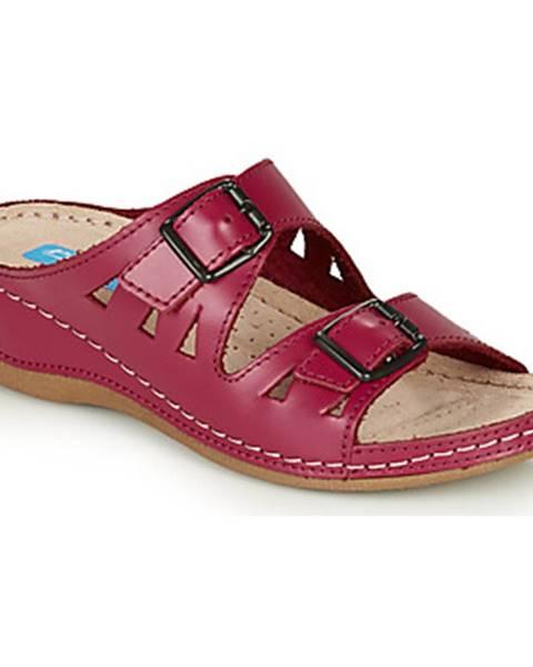 Ružové topánky Damart