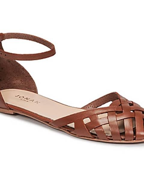 Hnedé sandále Jonak