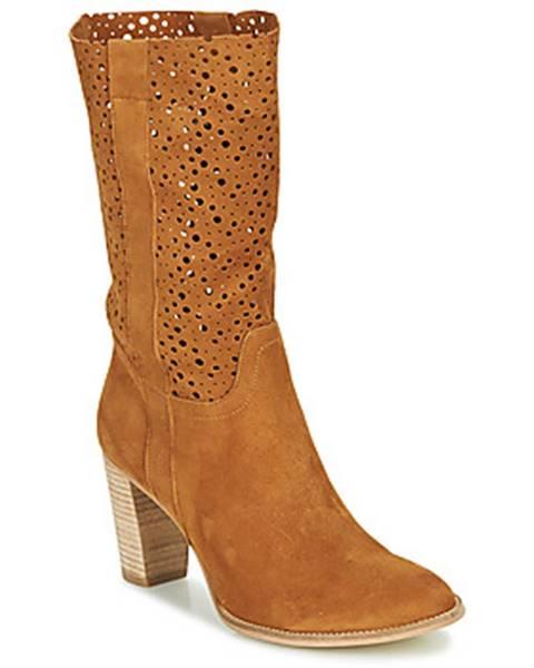 Hnedé topánky Myma