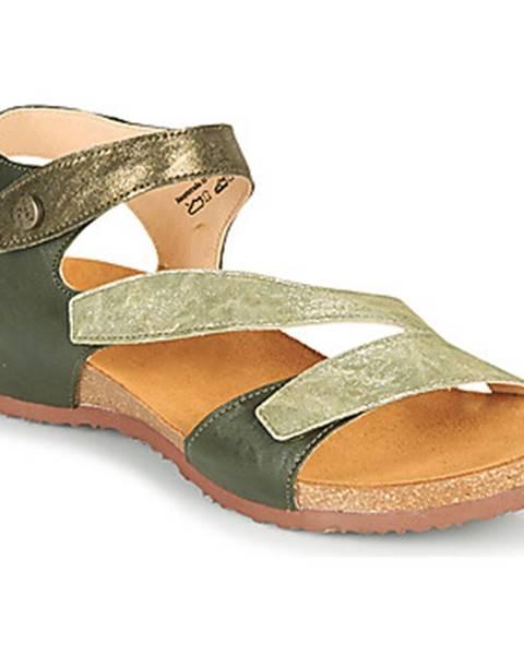 Zelené sandále Think