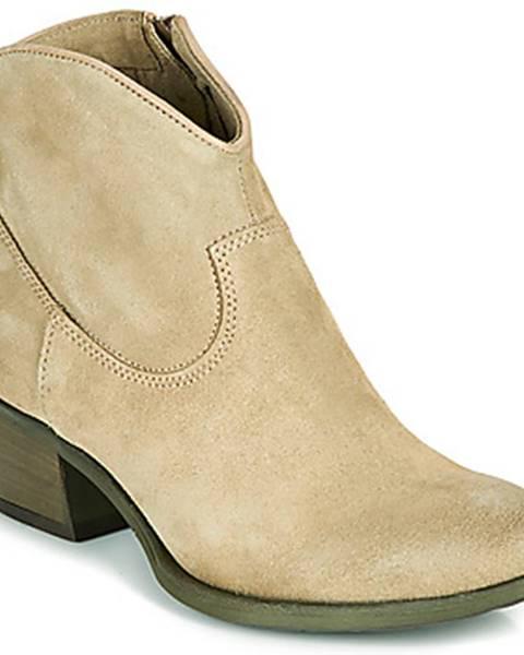 Béžové topánky Mjus