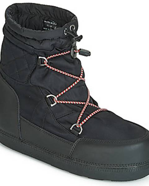 Čierne topánky Hunter