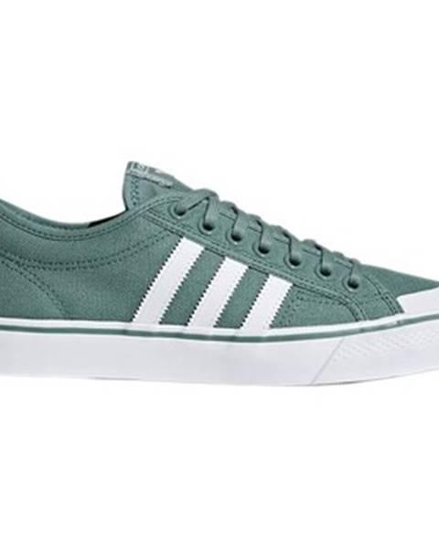 Zelené tenisky adidas
