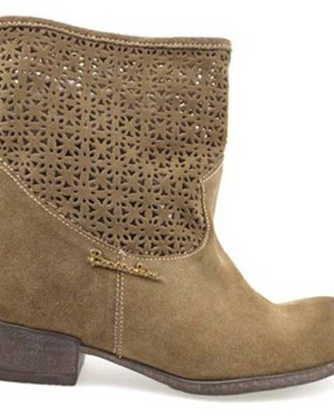 Hnedé topánky Braccialini
